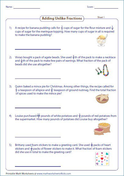 Adding And Subtracting Time Worksheets