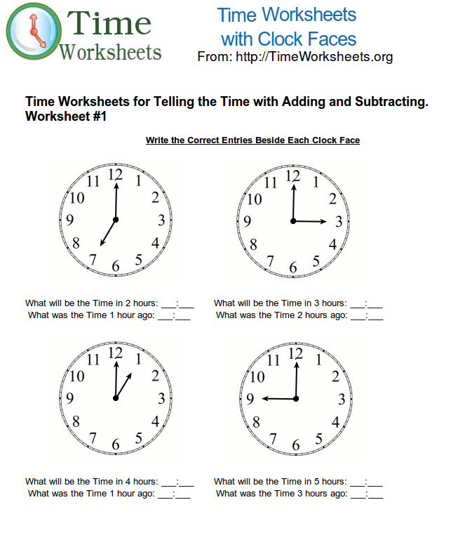 Adding Time Worksheet The Best Worksheets Image Collection