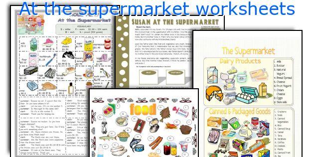 At_the_supermarket_worksheets Jpg