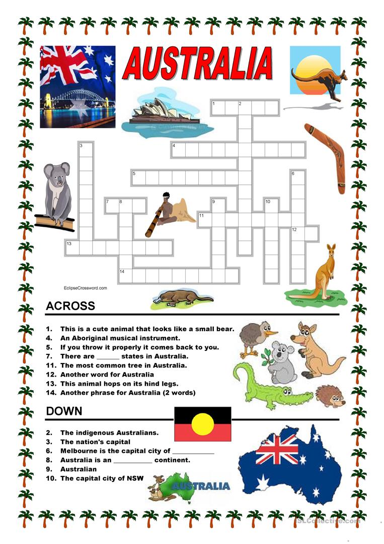 Australian Worksheets The Best Worksheets Image Collection
