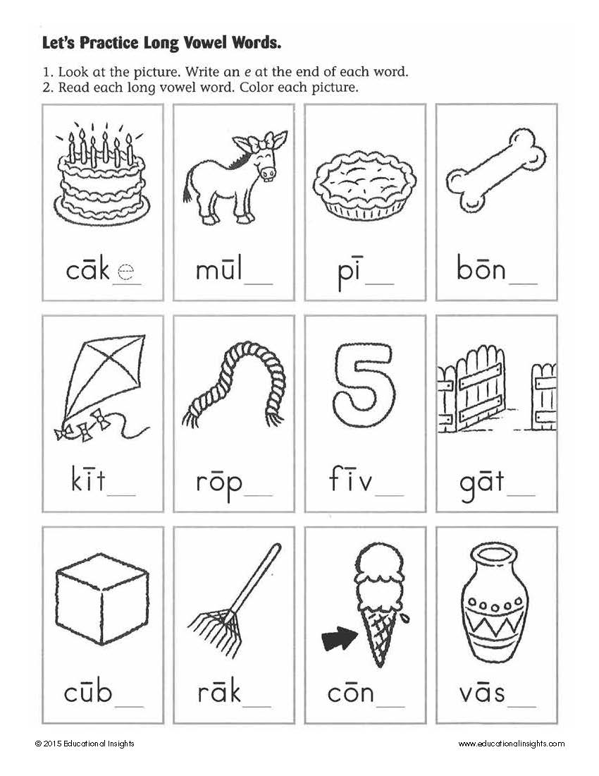 Basic Reading Worksheets For Kindergarten 39227