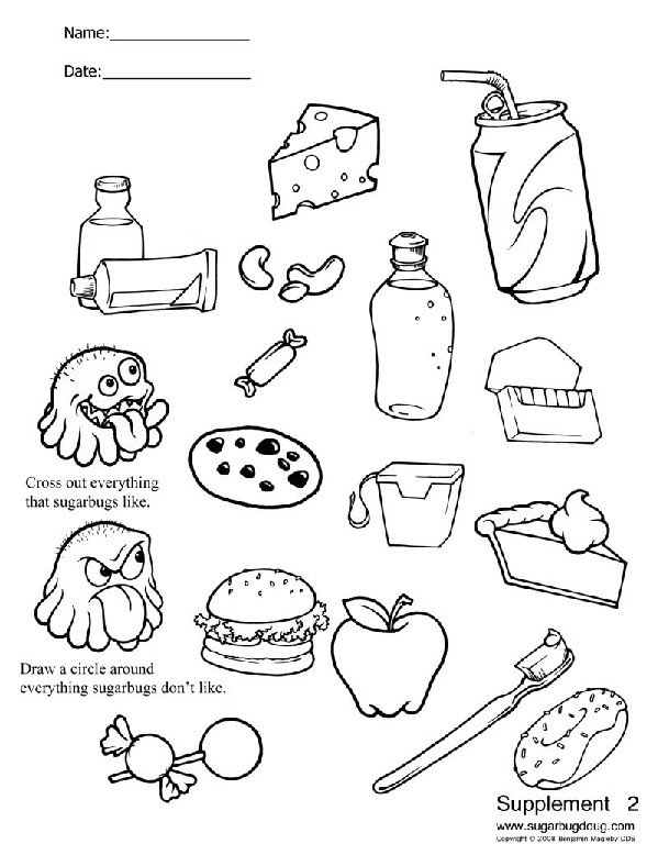 Beauteous Teeth Worksheets For Kids Printable Dental Stuff