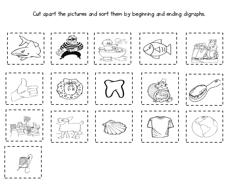 Best Ideas Of Free Printable Ch Worksheets For Description