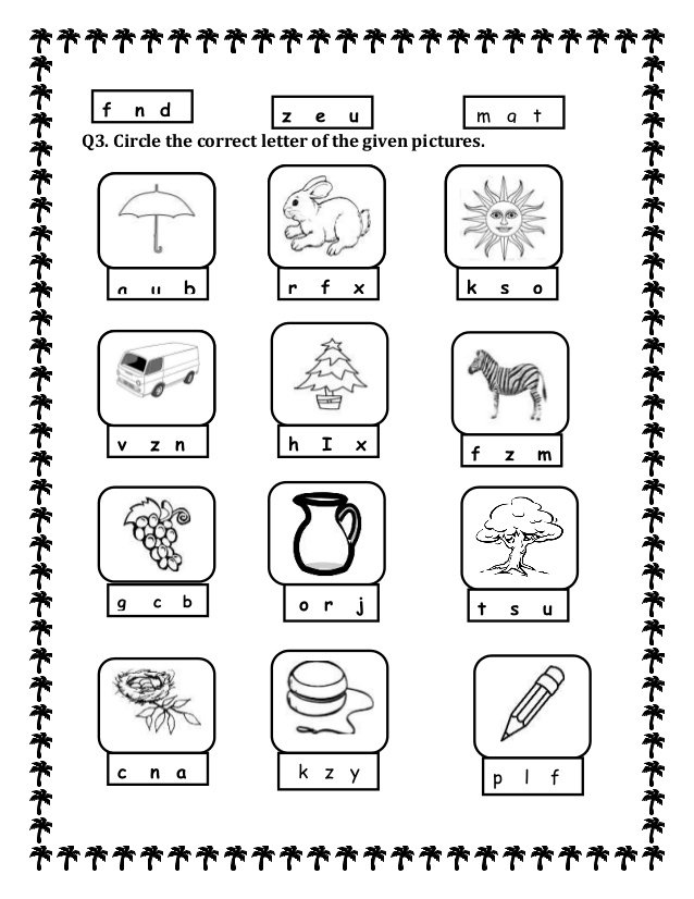 Best Ideas Of Kg1 English Worksheets Free For Proposal