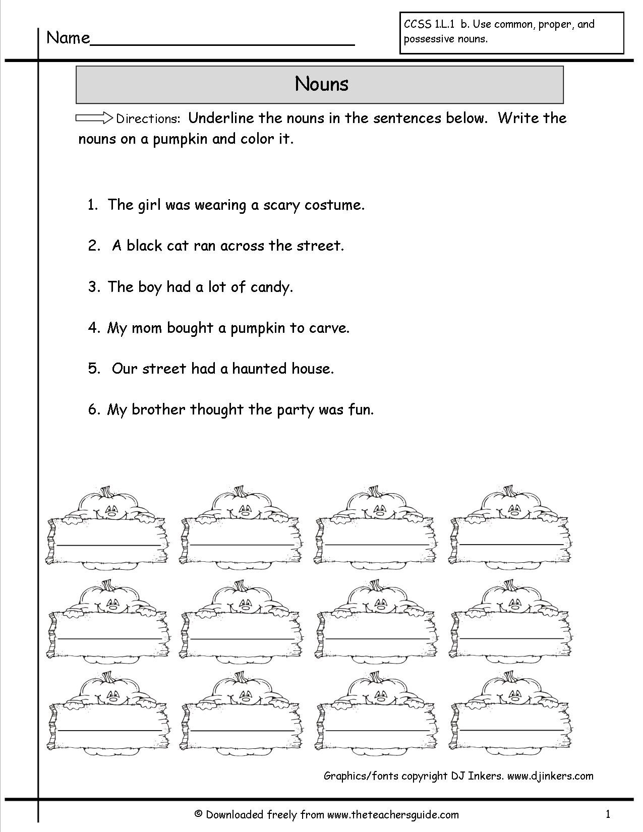 Classifying Sentences Worksheet The Best Worksheets Image