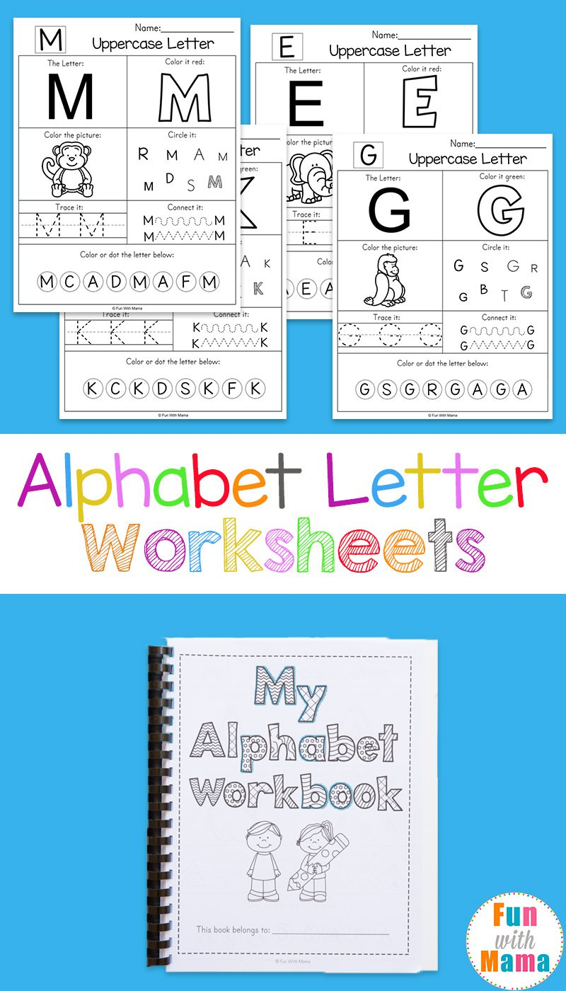 Collection Of Free Preschool Letter Worksheets