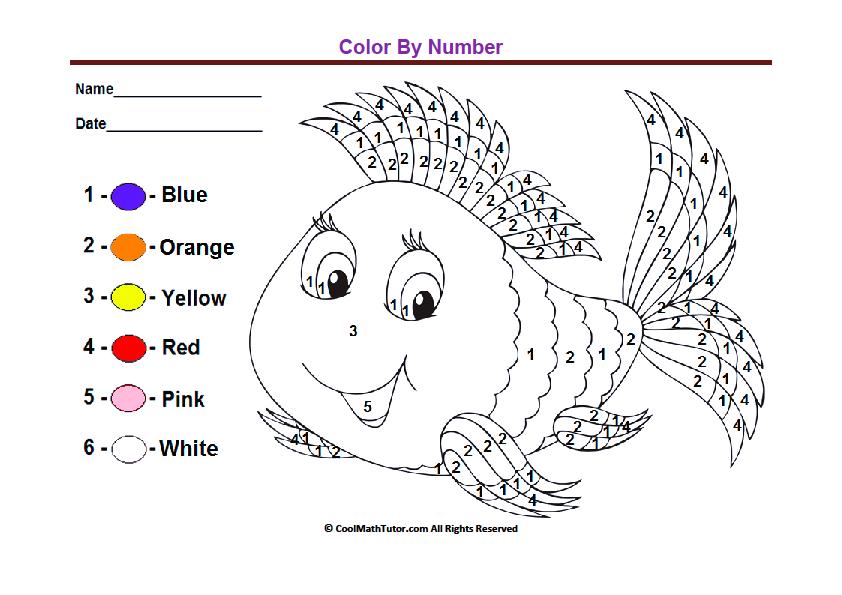 Collection Of Kindergarten Color Recognition Worksheets