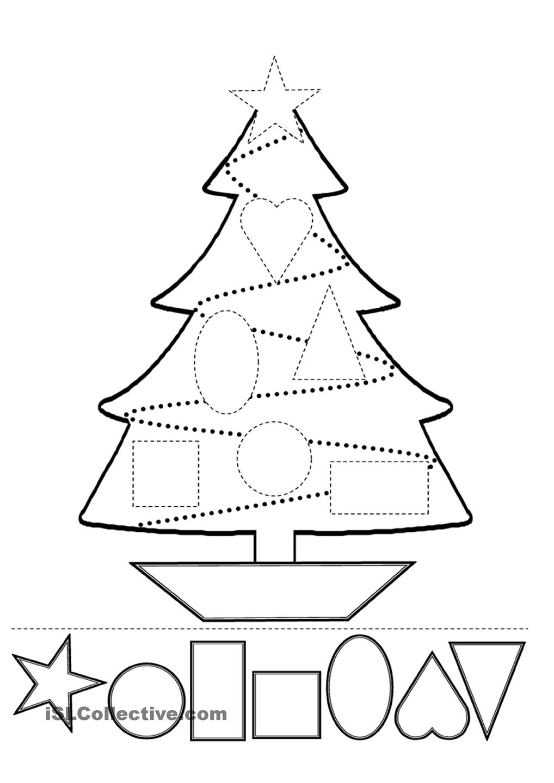 Collection Of Preschool Christmas Printables Free