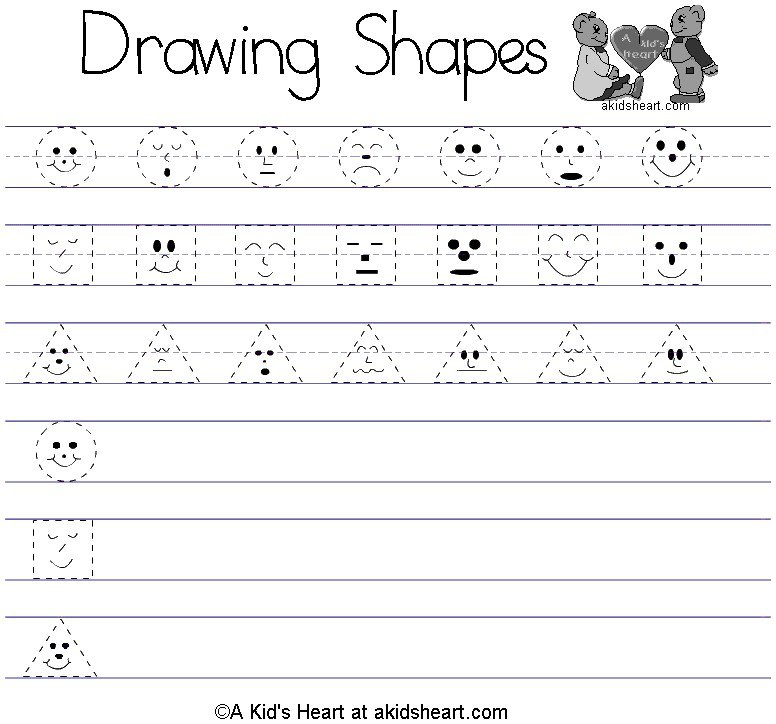 Collection Of Preschool Printables Free