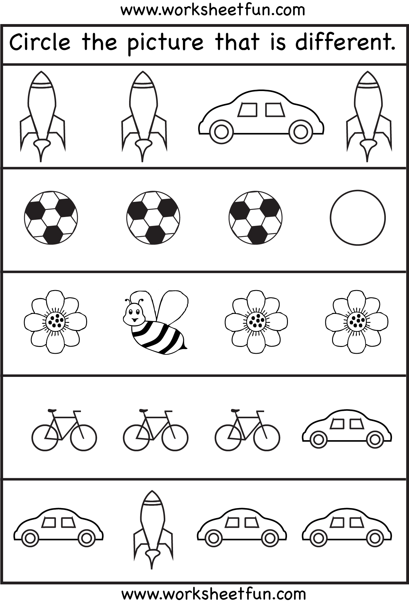 Collection Of Preschool Worksheet Games