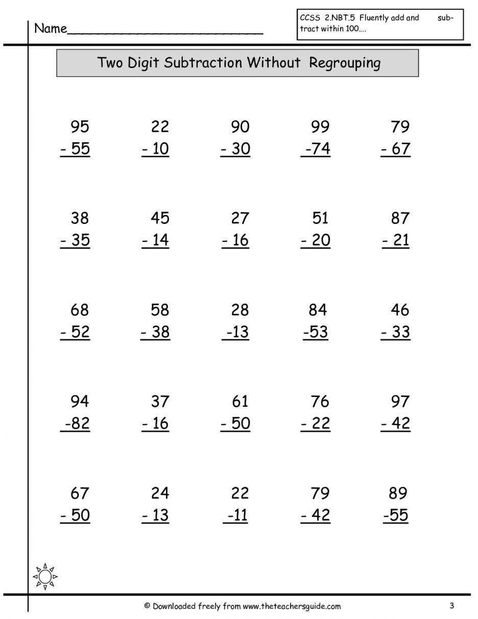 Collection Of Super Teacher Worksheets Math Volume