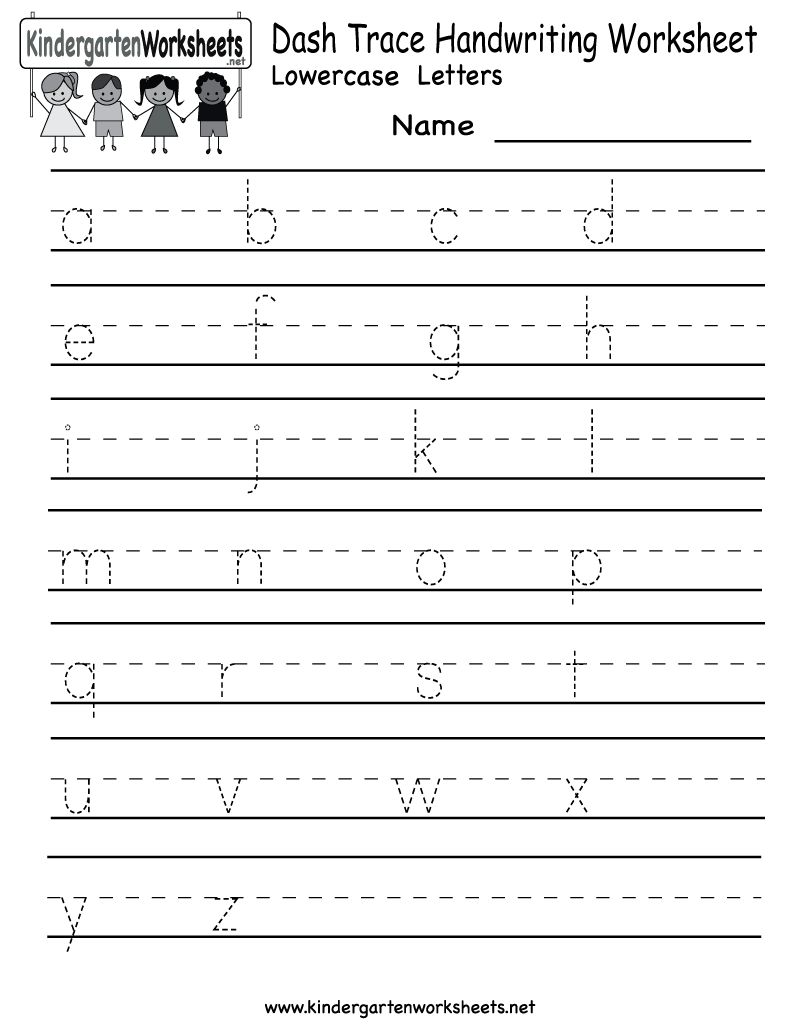 Collection Of Worksheets To Practise Handwriting