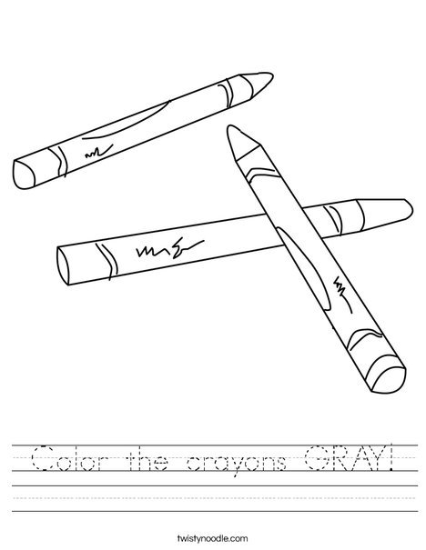 Color Gray Worksheets The Best Worksheets Image Collection