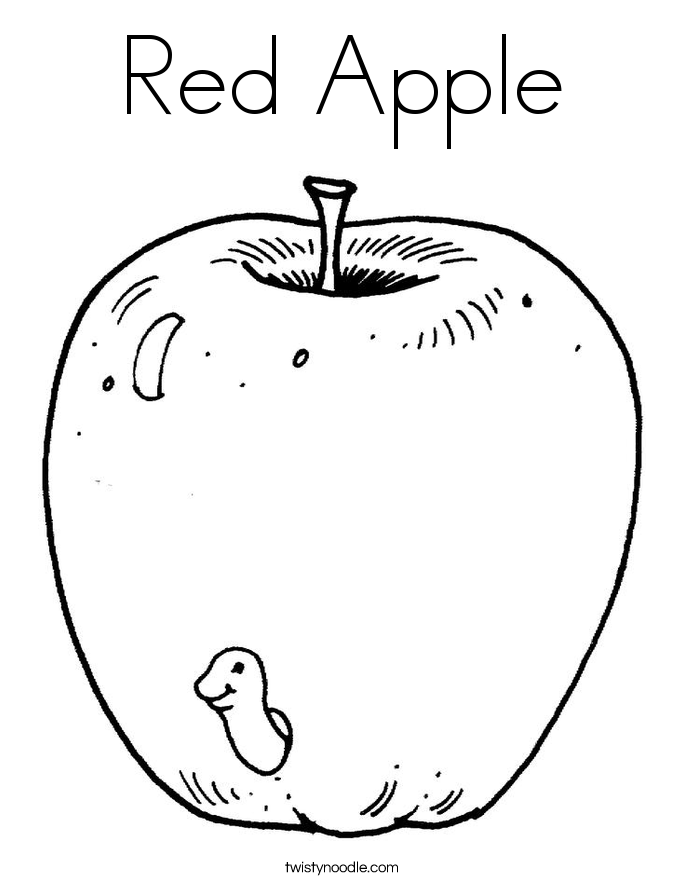 Color Red Coloring Pages  2038368