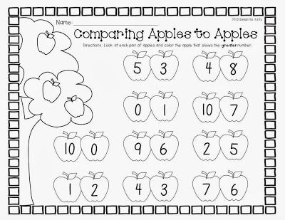 Comparing Numbers To 10 Worksheets For All