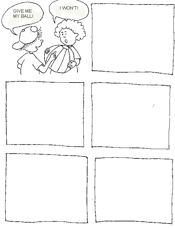 Conflict Resolution Worksheets For Kids The Best Worksheets Image