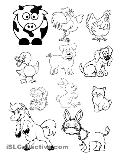 Confortable Farm Animals Worksheets Printables For Your Best