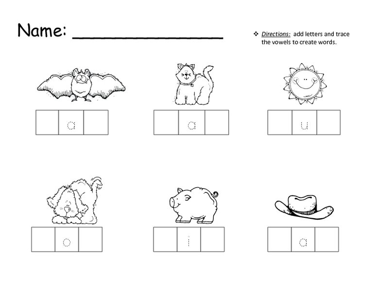 Cosy Cvc Word Worksheets First Grade With Cvc Words Worksheet Free