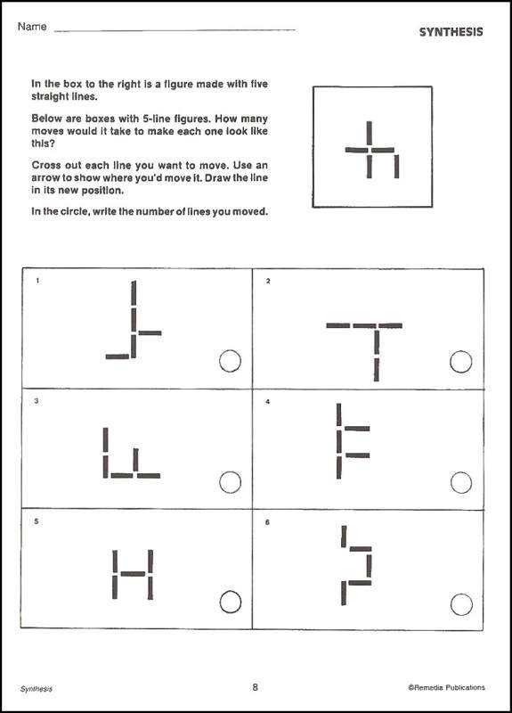 Critical Thinking Worksheet For 5th Grade