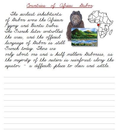 Cursive Handwriting Paragraph