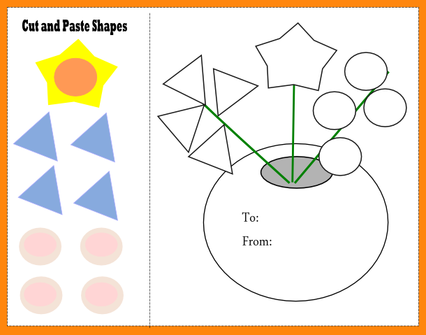 Cut And Paste Worksheets 4 Free Cut And Paste Worksheets Math
