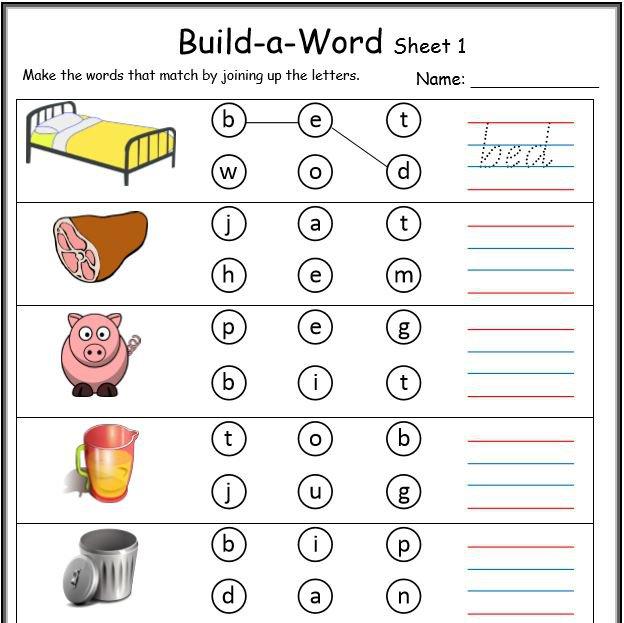 Cvc Worksheets Cvc Worksheets Printable Work Sheets