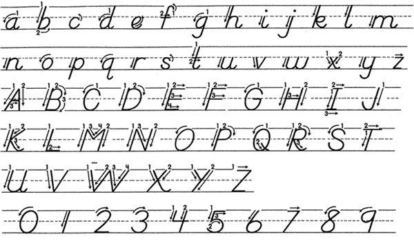 D Nealian Handwriting Worksheets Printable 681422