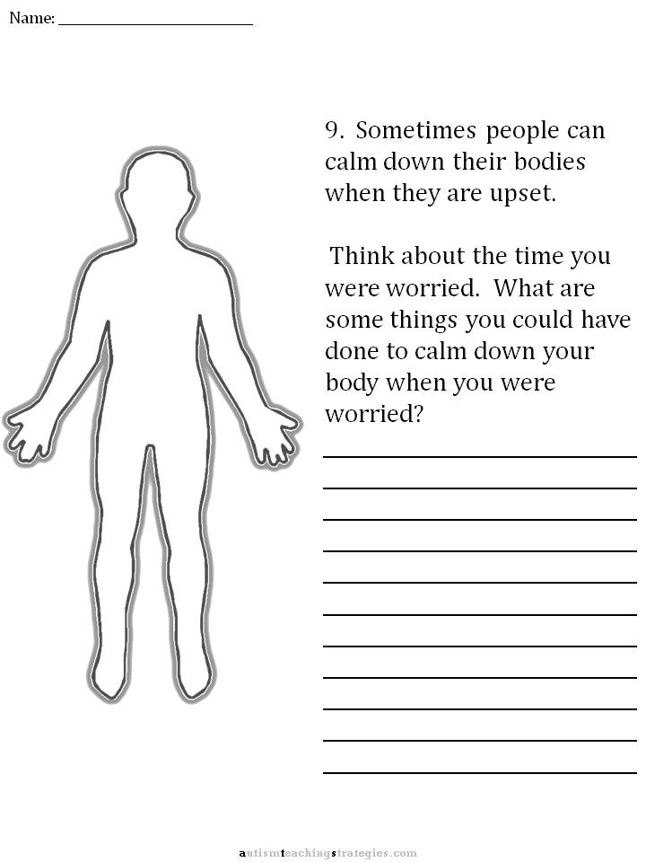Dealing With Anxiety Worksheets The Best Worksheets Image