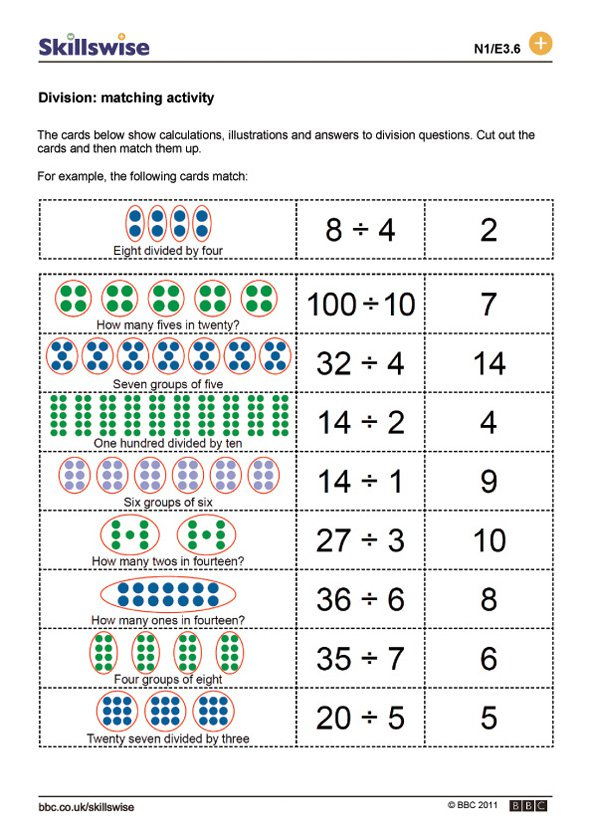 Division Worksheets With Pictures The Best Worksheets Image
