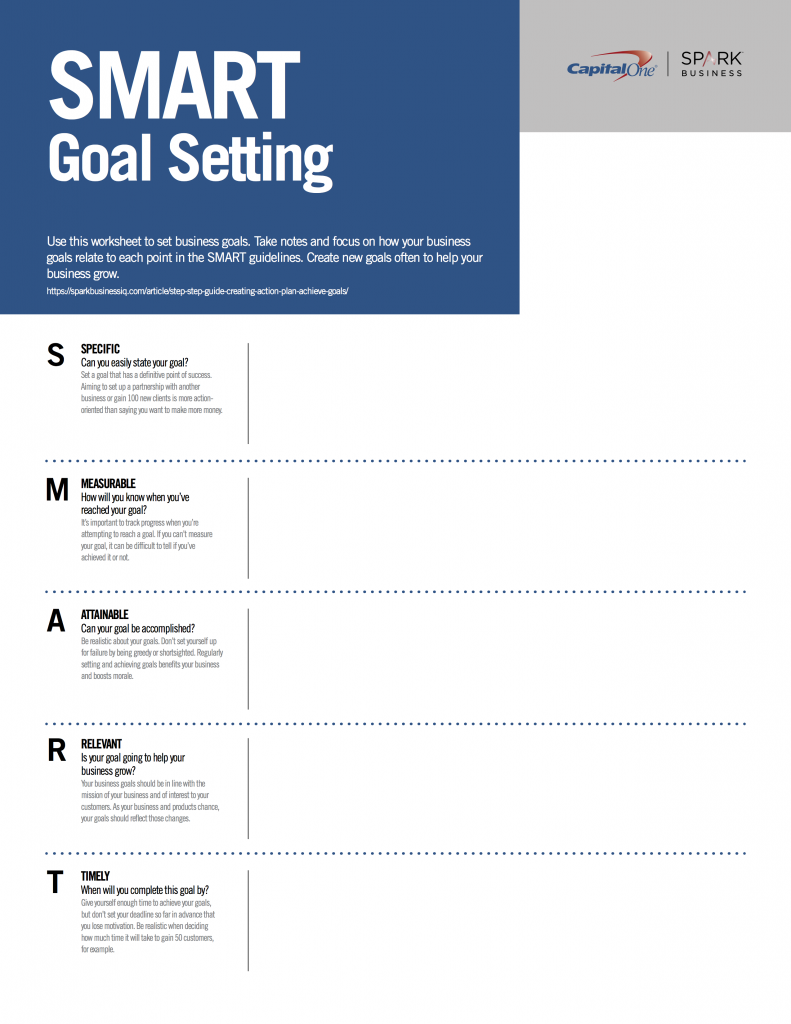 Download Now Goal Setting Worksheet Frontier Title Pdf
