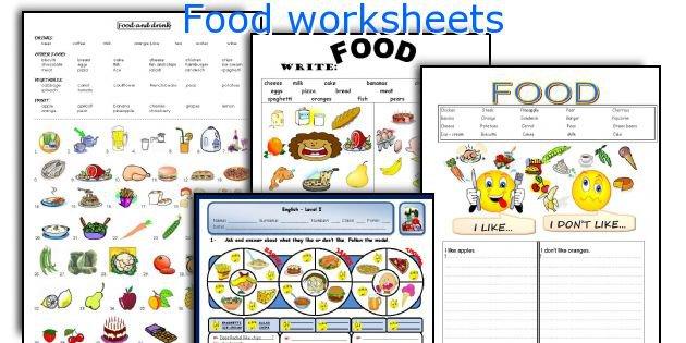 English Teaching Worksheets  Food