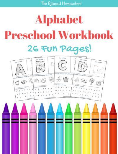 Free Alphabet Preschool Printable Worksheets To Learn The Alphabet