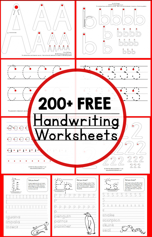 Free Handwriting Worksheets For Names The Best Worksheets Image