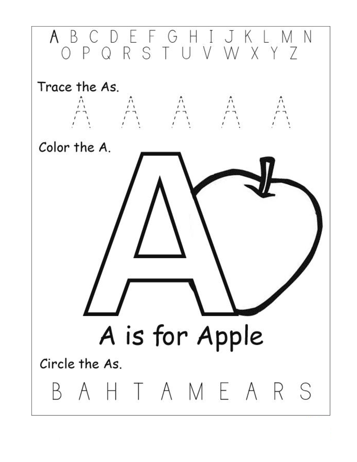 Free Pre K Worksheets The Best Worksheets Image Collection