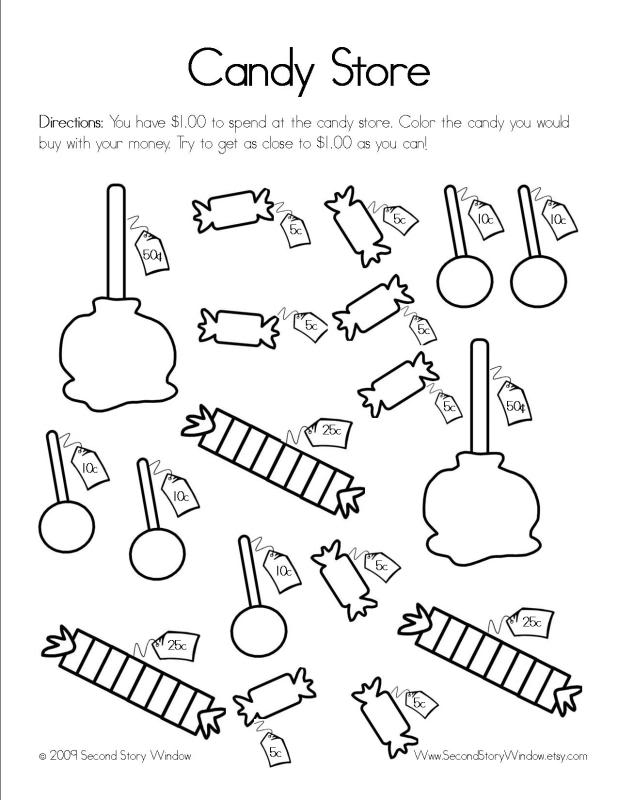 Free Printable Activity Worksheets  7531