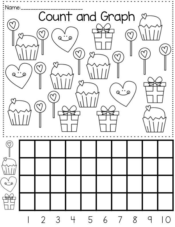 Free Printable Graph Worksheets For Kindergarten