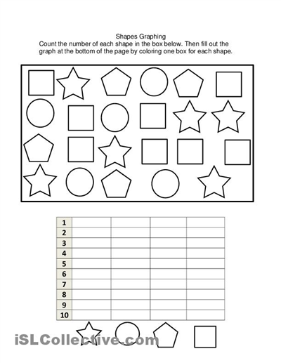 Free Printable Graph Worksheets For Kindergarten Printable Graph