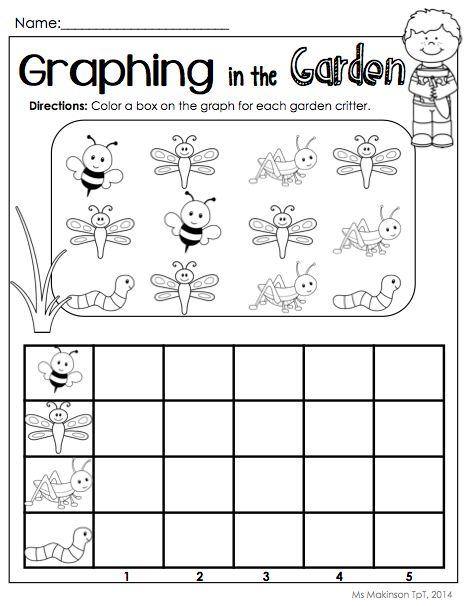 Free Printable Graphing Worksheets For Kindergarten Kindergarten