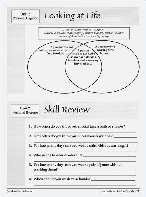 Free Printable Life Skills Worksheets The Best Worksheets Image
