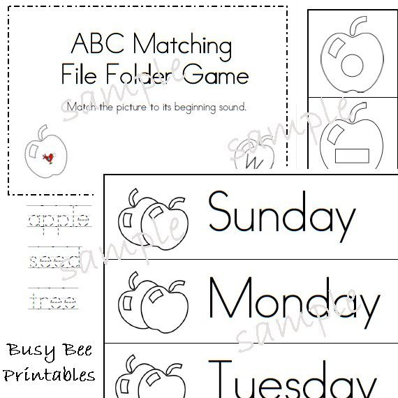 Free Printable Reading Readiness Worksheets For Kindergarten