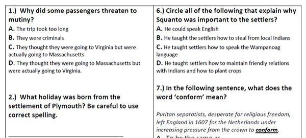 Free Reading Comprehension Worksheets Â«