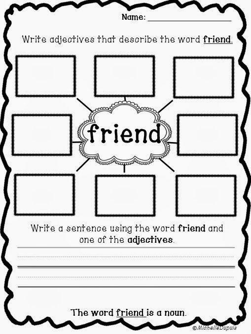 Friendship Worksheet Kindergarten