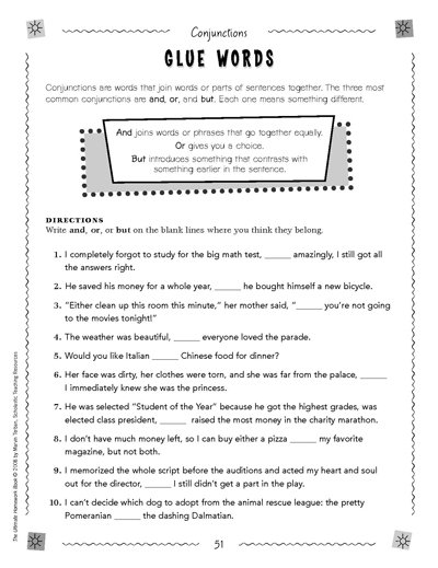 Fun Worksheets For 6th Grade