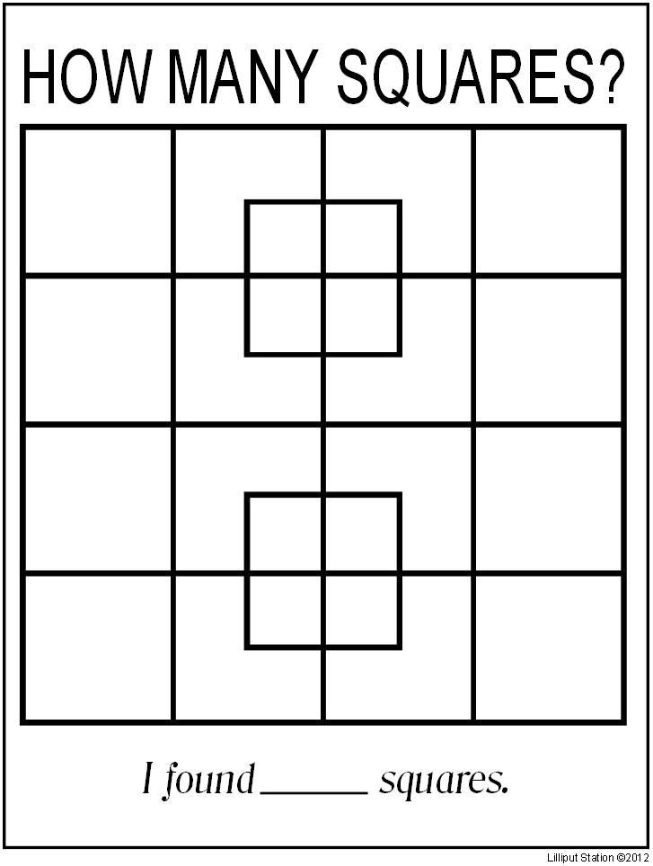 Geometry Puzzles Worksheet