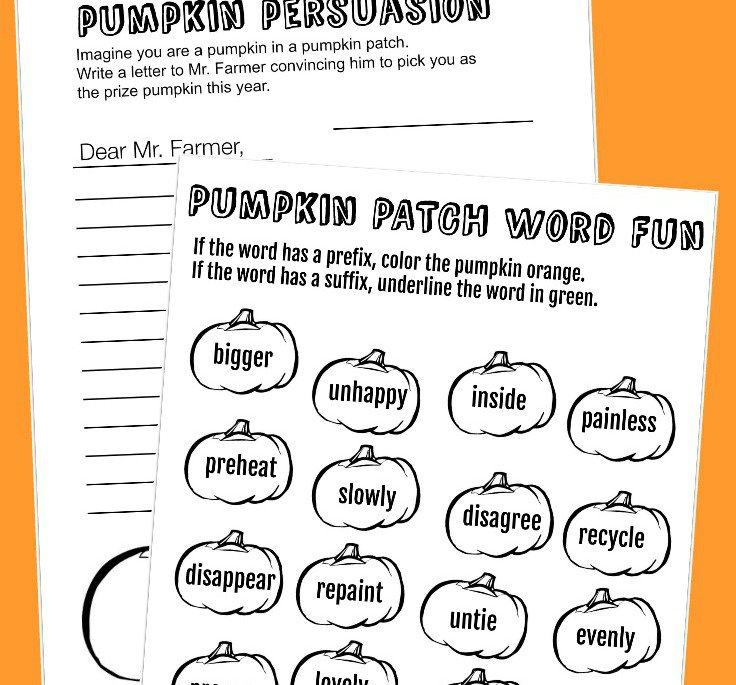 Halloween Themed Worksheets These Printable Pumpkin Worksheets