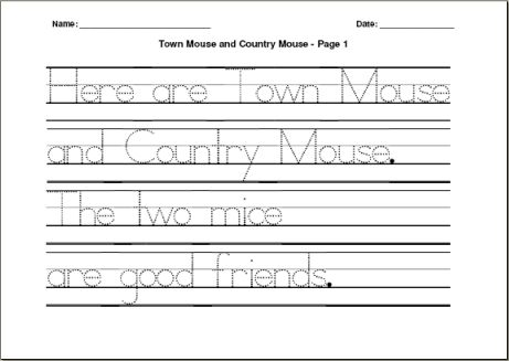 Handwriting Practice Paragraph Worksheets The Best Worksheets