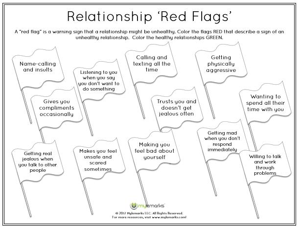 Healthy Vs Unhealthy Relationships Worksheets The Best Worksheets