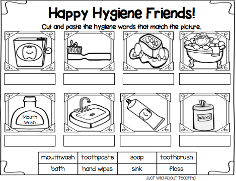 Just Wild About Teaching  All About Hygiene {health Pack}