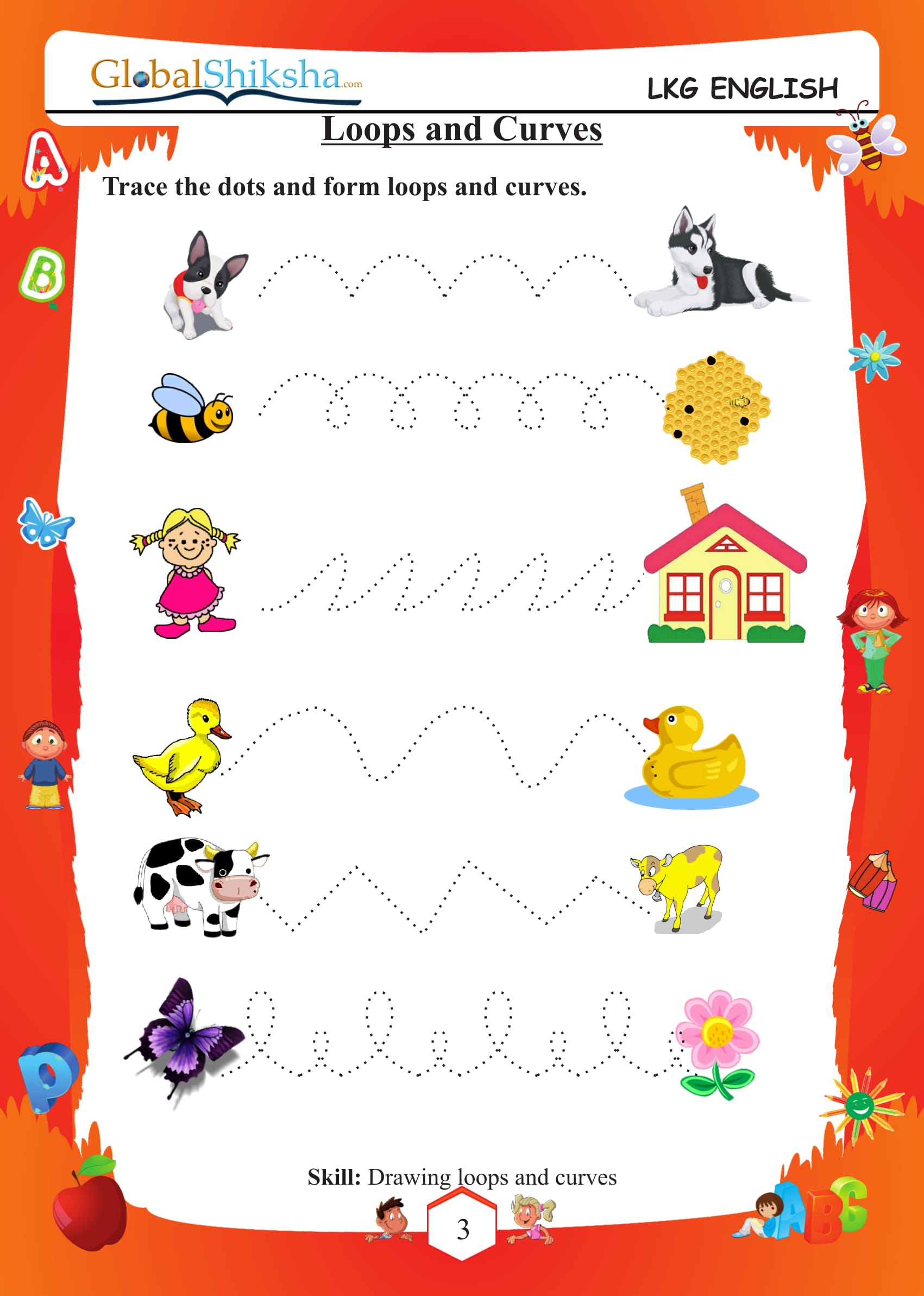 Kids  Free Worksheets For Lkg  Famous For An Exciting Math Program