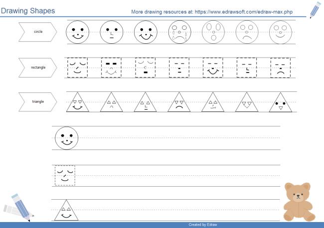 Kindergarten Drawing Worksheets At Getdrawings Com